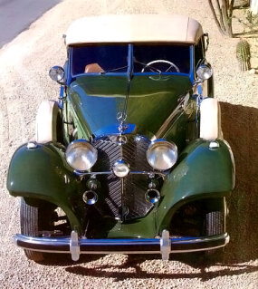 The few 1938 Mercedes-Benz 540K cabriolet As that made it to the United States sold for $12,000 each.