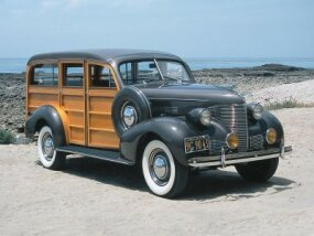 This 1939 Chevrolet Master DeLuxe was restored to its original beauty.