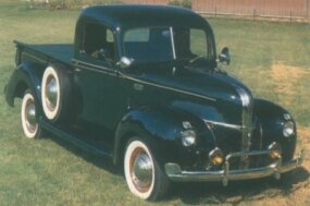 More than just a pretty face, the 1940-1941 Ford half-ton pickup trucks were s turdier and wider than their predecessors, with more car-like cabins.