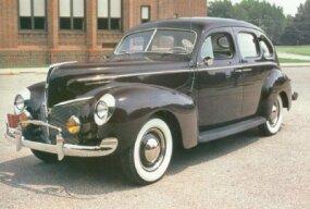 The Town Sedan had a 116-inch wheelbase.
