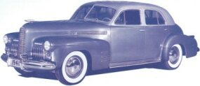 Another view of the proposed 1941 LaSalle. The concept car was photographed in January 1940. Resemblance to other period GM cars was strong.