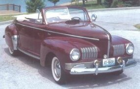 "The ""All-Purpose Cabriolet"" lent an air of top-down glamour to the 1941 Ambassador line."