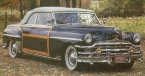 The 1949 convertible is the scarcest of the volume ragtops and an eminently collectible automobile.