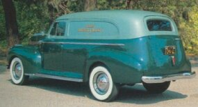 Hydraulic brakes and an independent front suspension were just some of the features of the 1941 Chevrolet Series AG Sedan Delivery.