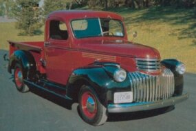 The toothy grille of the 1941 Series AK pickup echoed the design used on Chevy's 1941 cars.