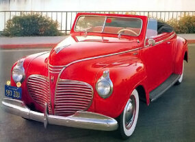 The 1941 Plymouth Special Deluxe Convertible had a longer wheelbase than Ford and Chevy -- but also had a higher price tag.