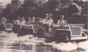 The jeep garnered quite a reputation as the first vehicles to pass the treacherous Burma Road.