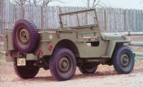 The Ford jeep got the lowest scores in Army road tests.