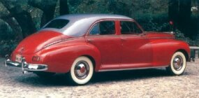The Super Clipper was the first car Packard launched after World War II.
