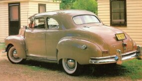 This stylish 1948 Nash 600 has all the options that allowed its salesman owner to travel in comfort.
