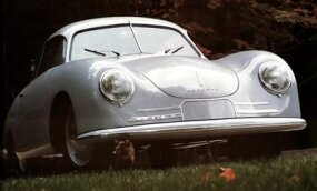 The 356/2 was a rugged car that handled well on tough roads.