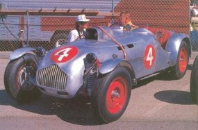Allard was just getting underway with the J2 in 1949. As the racing numbers attest, the J2 was intended for serious competition.