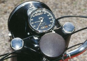 With just a speedometer, shifting was best done by ear.