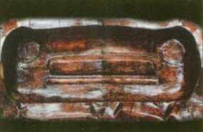 The front piece of Caleal's mold shows no apparent sign of a spinner grille.