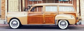 The 1949 Special DeLuxe had seating for up to eight with a third row installed.