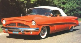 This Packard Panther's only modification was a racing windscreen.
