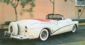 Announced in October 1952, the 1953 Skylark didn't go into production until January 1953.