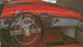 The 1953 Skylark boasted a leather interior and plenty of luxury features.