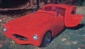 The Woodwill Wildfire was introduced to the world November at the 1952 Motorama in Los Angeles.