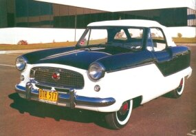 By the time this 1960 model rolled out, horsepower had increased to 55.