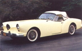 The first prototype from Darrin was considered one of the best-looking sports cars of its time.