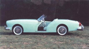 Only one 1953 Darrin has ever been found, though it's possible that most of the others were converted to 1954 specs.