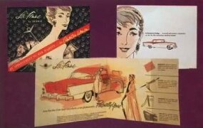 The 1955 Dodge La Femme sales brochure had a clearly targeted audience.
