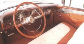 Inside the 1955 Pontiac Star Chief Safari