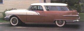 The 1956 Pontiac Star Chief Safari