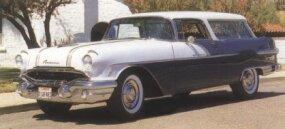 As in 1955, the 1956 Pontiac Star Chief Safari