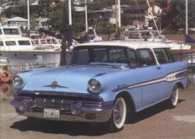 The 1957 Pontiac Star Chief Safari