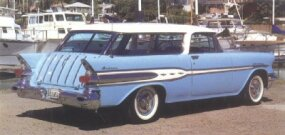 The 1957 Pontiac Safari design was outstanding when the car was new -- and it's truly appreciated today!