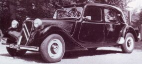 The Traction Avant bowed in 1934 and was the first Citroen with front-wheel drive.