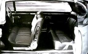 The four-door Lancia Florida used center-opening, pillarless construction.