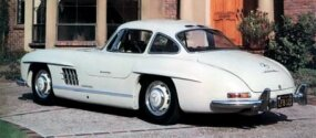 The 300SL was one of the most expensive cars of its time -- more than twice that of the Corvette and even pricier than a Cadillac Eldorado.