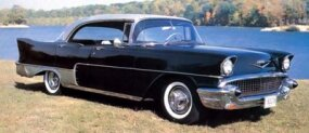After 20 of the 1956 models, only 16 of the 1957 El Moroccos were built before Allender called it quits in mid-1957.
