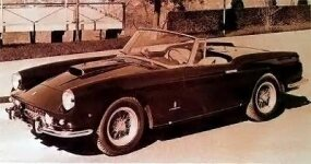 Superfast II was first seen at the Turin Salon in 1960.