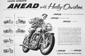 A 1956 ad featuring a KH depicts the entire