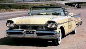 The Mercury Turnpike Cruiser paced the 1957 Indy 500. Replicas were offered, but this is one of the four originals.