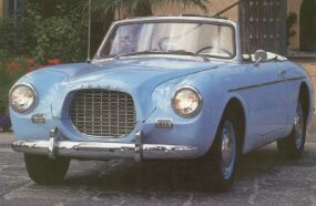 Only 67 of these 1957 Volvo P1900 Sport convertible coupes were produced.
