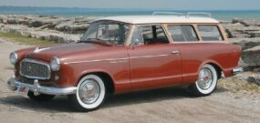 The 1960 Rambler American Custom station wagon was rare, drawing only 1,430 orders.