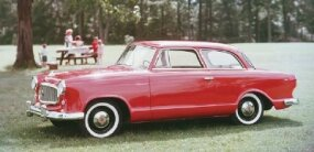 The clear majority of 1959 Rambler American sales still went to two-door sedans like this Super.