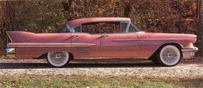 The 1958 Limited measured 227.1 in. long overall, verus only 225.3 for the 1958 Cadillac Sixty-Two.