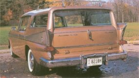 This was one of only 1,430 cars to be sold with an Ambassador nameplate in 1958.