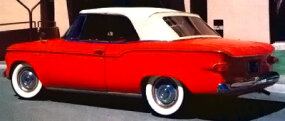 The Lark Regal VIII ragtop was the only compact convertible in 1960.