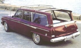 The Wagonaire featured a novel -- and useful -- sliding rear roof panel.