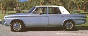 The 1964 Studebakers came in four series -- the Challenger, Commander, Daytona, and Cruiser.