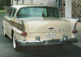 The fins of the 1959 model flowed more gently into the body than they did on earlier models.
