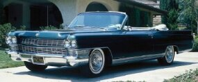 For an extra cost, buyers of 1964 models like this 1964 Cadillac Eldorado Biarritz could enjoy an automatic heating and AC system.