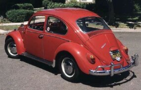 The 1966 Volkswagen Beetle was the most-changed Beetle in a decade. Big news was a bigger engine, from 1200 cc and 40 horsepower to 1285 cc and 50.